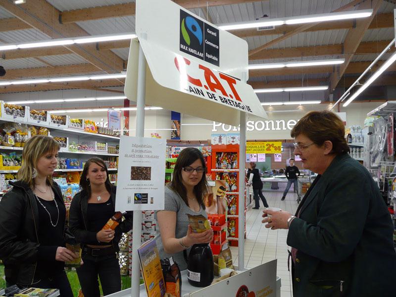 Bac professionnelOption Technicien vente conseil qualité commerce – Lycée Saint Nicolas la Providence