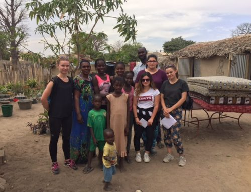 4 stagiaires au Sénégal
